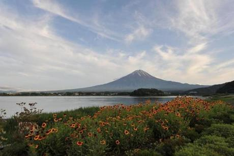 Mount Fuji is the highest mountain in Japan at 12,460 feet.